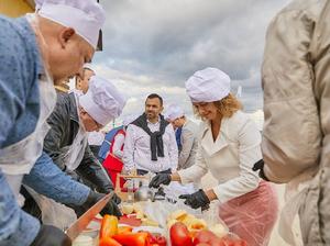 Гастрономические мастер-классы и кулинарные баттлы: каков Business Residence на вкус?
