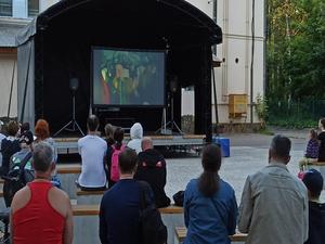 В нижегородских парках возобновятся вечерние кинопоказы