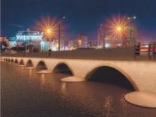 Художественная подсветка мостов обойдется Челябинску 16 млн руб.