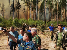 Режим ЧС ввели в двух районах Нижегородской области из-за пожара в Мордовском заповеднике