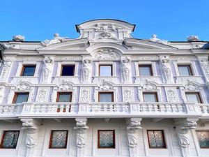 Фасад Усадьбы Рукавишниковых отреставрировали к 800-летию Нижнего Новгорода