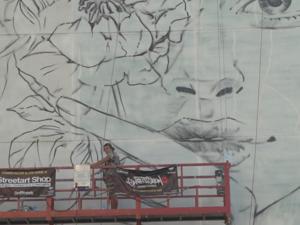 ЮУ КЖСИ привлекла художника из Казани для фестиваля граффити в Челябинске