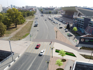 Урбанисты требуют сделать безопасный пешеходный переход к новой набережной в Челябинске