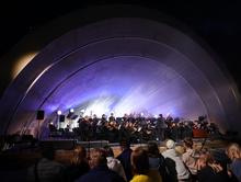 На восстановленной сцене «Ракушка» в Александровском саду прошел первый концерт