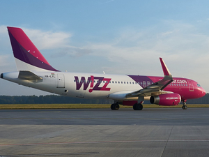 Министр Венгрии заявил, что в Екатеринбург заходит европейский лоукостер WizzAir