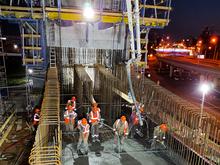 Подрядчик приступил к новому этапу строительства четвертого моста в Новосибирске