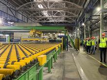 На Борском стекольном заводе запустили линию по производству полированного стекла
