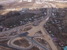 Движение по новой транспортной развязке в Ольгине полностью откроют в сентябре