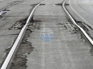 В Челябинске потратят 106 млн рублей на новые трамвайные рельсы