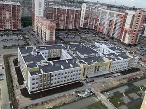 Школу для «Академа» достроили в рекордные сроки
