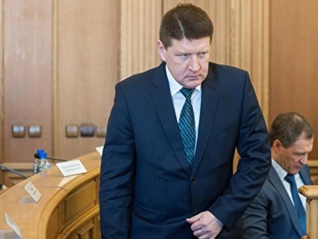 Игорь Плаксин на заседании гордумы
