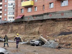 Мэрия Красноярска нашла владельца рухнувшей подпорной стены в Солнечном. Это не Генералов