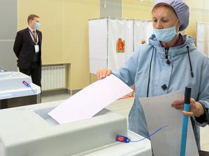 Явка на второй день в Красноярском крае составляет более 18%