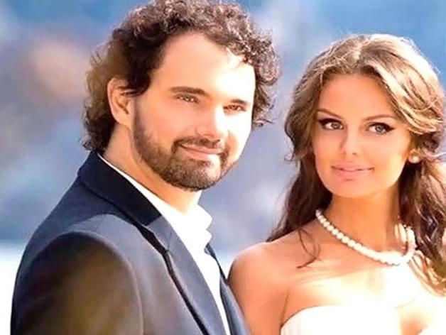 Дмитрий Лошагин с убитой им женой, моделью Юлией Прокопьевой