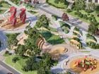 На Взлетке появится новый сквер площадью 12 000 квадратных метров