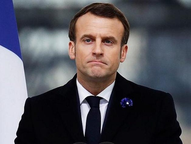 Эммануэль Макрон, президент Франции
