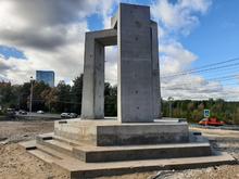 Памятник нижегородским пожарным строят в Щербинках