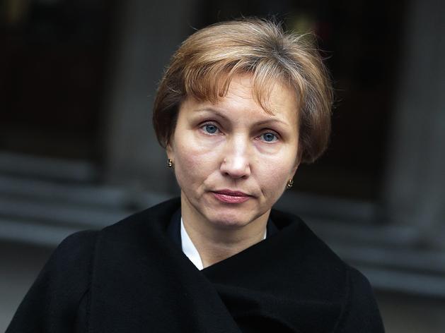 Мария Картер (Марина Литвиненко), вдове бывшего сотрудника ФСБ Александра Литвиненко