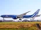 В Красноярске экстренно сел самолет Boeing-747