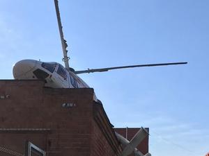 Приволжская транспортная прокуратура выясняет обстоятельства аварийной посадки вертолета