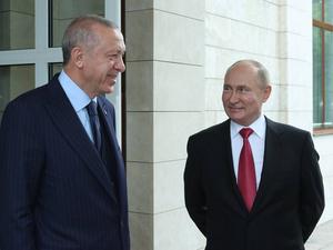 «Только хороший друг придет в темный день». Как прошла встреча Путина и Эрдогана в Сочи
