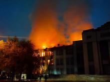 В Нижнем Новгороде горел один из крупнейших объектов культурного наследия
