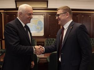 Алексей Текслер персонально встретился с единственным в Госдуме южноуральцем от КПРФ