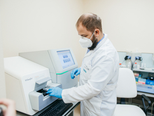 В Центре детской онкологии и гематологии запущен в работу секвенатор нового поколения