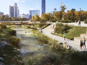 Эксперты выбрали победителя концепции по реконструкции набережной Городского пруда